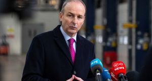 Micheál Martin set out various ways in which Ireland hopes to build a presence in the Asia-Pacific region. Photograph: Julien Behal Photography/PA Wire