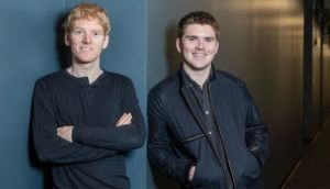 Stripe founders Patrick and John Collison: Zoom, Just Eat, Mattel and  NBC are among its new clients