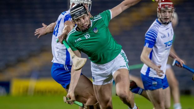 Limerick's Gearóid Hegarty is a potential Hurler of the Year.Photograph: Morgan Treacy/Inpho