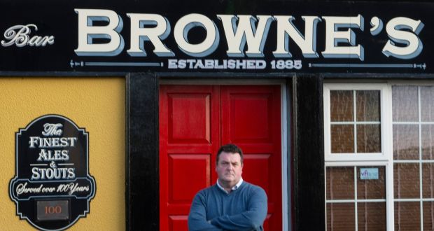 Billy Browne of Browne's Bar in the village of Parteen is contemplating life outside the pub trade. Photograph Liam Burke/Press 22