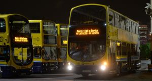 Dublin Bus has handed over CCTV footage of the incident to gardaí. File photograph: Alan Betson/The Irish Times