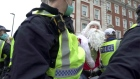 UK police arrest 60 in anti-lockdown protests