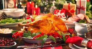 Cut-price Christmas dinner: Richy Craven's deluxe spread cost €23. Photograph: iStock/Getty