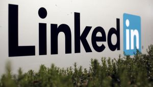 The bulk of LinkedIn's increase in profits was accounted for by intra-company transactions. Photograph: Robert Galbrait/ Reuters
