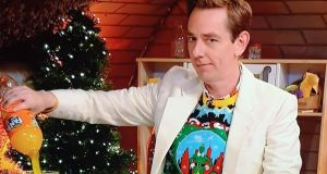 Ryan Tubridy on The Late Late Toy Show: Swore after accidentally spraying himself with fizzy orange
