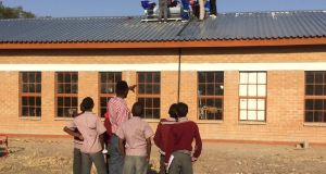 The SolaFin2Go project involved the provision of entry-level solar systems to a school and teachers' homes in Jamataka, Botswana.