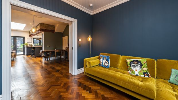 37 Church Avenue, Drumcondra, Dublin 9: lovely original features, stylish revamp and fine location.