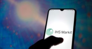 IHS Markit is a research company that supplies forecasts to most of the world's biggest companies as well as pricing for bonds and credit default swaps. Photograph: Rafael Henrique/SOPA Images/LightRocket via Getty Images