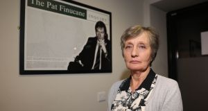 Geraldine Finucane, the widow of murdered solicitor Pat Finucane says the decision is 'yet another insult added to a deep and lasting injury'. Photograph: Liam McBurney/PA Wire