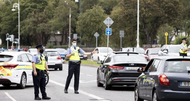 Under Operation Fanacht, more than 100 Garda checkpoints will be in place on main routes, supported by a schedule of mobile checkpoints. File photograph: Tom Honan