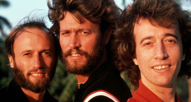 Barry, Robin and Maurice Gibb of The Bee Gees
