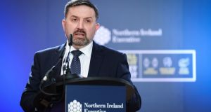 Northern Ireland  Minister for Health Robin Swann said the roll-out of the Covid-19 vaccine could start next week. Photograph: Kelvin Boyes/Press Eye/PA Wire