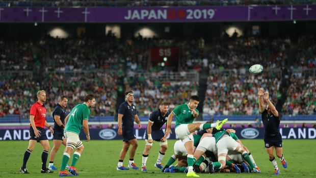 Ireland have had the upper hand over Scotland in recent meetings and beat them in the 2019 Rugby World Cup. Photo: Warren Little - World Rugby/World Rugby via Getty Images
