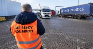 Recent economic modelling shows the long-term economic impact of a no-deal Brexit to be greater than that of Covid-19. Photograph:  Peter Boer/Bloomberg