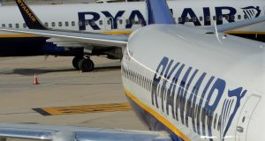 Ryanair has already committed to buying 135 of the craft, and has an option to take a further 75.  Photograph: Eric Gaillard/Reuters