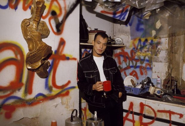 Roland Gift in the 1980s. Photograph: Fin Costello/Redferns/Getty
