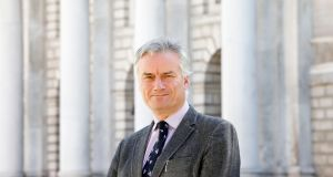 Dr Patrick Prendergast, Provost of  Trinity College Dublin, told an Oireachtas education committee on Thursday that a lack of personal contact with other students was affecting the mental health and wellbeing of many students. Photograph: Alan Betson