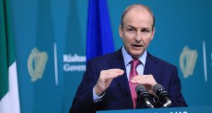 Taoiseach  Micheál Martin: 'I believe a deal is possible.' Photograph:  Julien Behal/POOL/AFP via Getty Images)