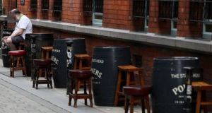 Wet pubs can only offer delivery or take-away services under the latest restrictions. File photograph: PA