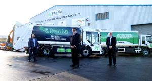 Ireland's first fully electric, zero-emission refuse collection vehicle was unveiled today. Photograph: Jason Clarke