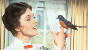 Mary Poppins: Julie Andrews in the 1964 film. Photograph: Mondadori via Getty