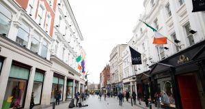 Figures published on Friday show the economy here rebounded strongly from the first lockdown, notching up double digit growth in the three-month period between July and September. Photograph: Tom Honan/The Irish Times