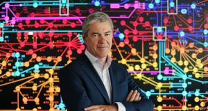 Mark Foley, CEO of Eirgrid: 'Our engineers in the national control centre have seen demand for electricity increase significantly in recent days, culminating in a record spike in demand on Thursday.' Photograph: Aidan Crawley