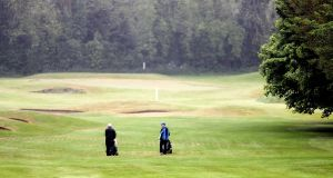 A view of members laying golf at Craddockstown golf club. Photo: Laszlo Geczo/Inpho