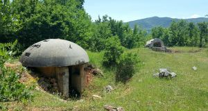"About 21,000 steel and concrete pillboxes were built each year from 1975 until 1983, when the ""bunkerisation of Albania"" concluded. Photograph: Getty"