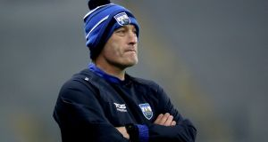"Waterford manager Liam Cahill: ""I was talking to a fella this morning from Italy and he's oblivious to anything to do with my other life."" Photograph:  Bryan Keane/Inpho"