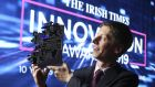 Danny Forde of Atlantic Therapeutics, overall winner of the The Irish Times Innovation Award last year.  Photograph: Conor McCabe Photography