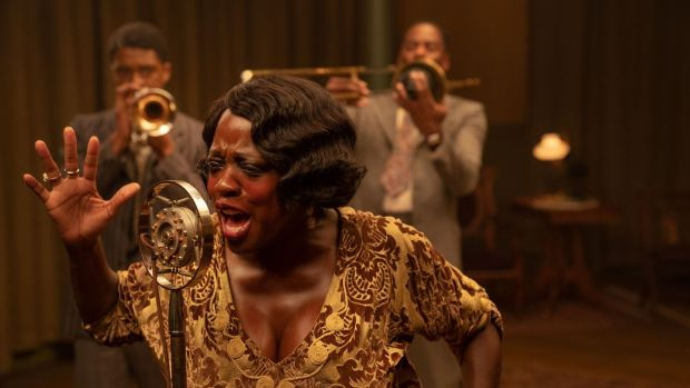Viola Davis is Ma Rainey in Ma Rainey's Black Bottom, which streams on Netflix from December 18th. Photograph: Netflix