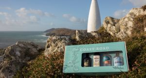 Four Irish gin distilleries have come together to offer Coast Road, a Wild Atlantic Way gift pack of miniatures