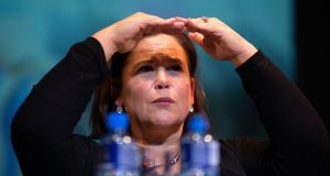 It has been a difficult week for Sinn Féin, and for its leader Mary Lou McDonald. Photograph: Tom Honan
