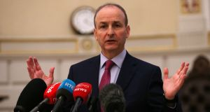 Taoiseach Micheal Martin  told Fianna Fáil TDs and Senators that politicians needed to modernise how the Oireachtas does its business.    Photograph: Laura Hutton