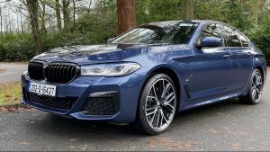 BMW 530e M-Sport:  incisive and entertaining to drive