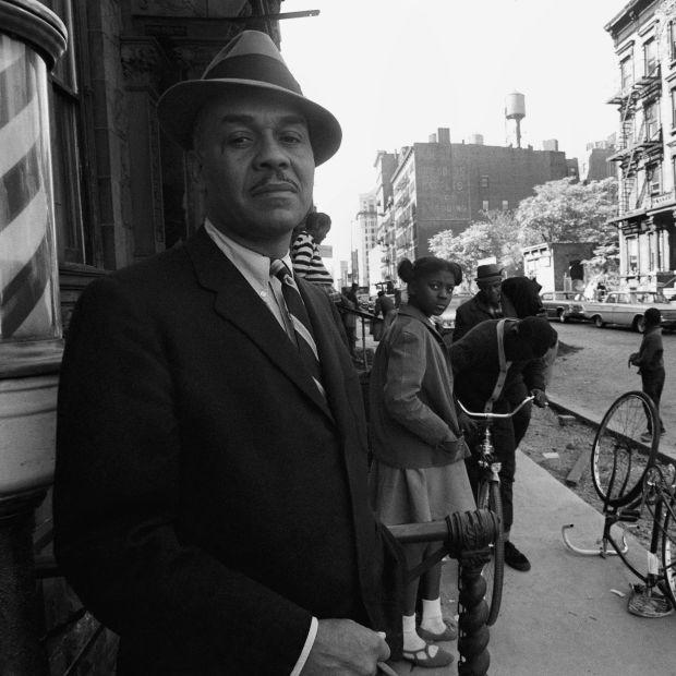 Ralph Ellison in New York City in 1966. Photograph: David Attie/Getty