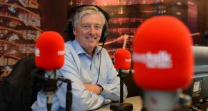 Pat Kenny: the Newstalk presenter has sounded more engaged on air since the pandemic kicked in. Photograph: Frank Miller