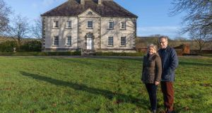Kieran and Geralyn White pictured at their house at Ballysallagh, Johnswell, Co Kilkenny. Photograph: Dylan Vaughan.