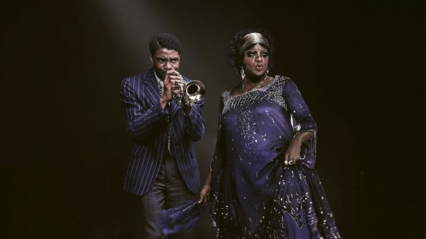 Chadwick Boseman and Viola Davis in Ma Rainey's Black Bottom