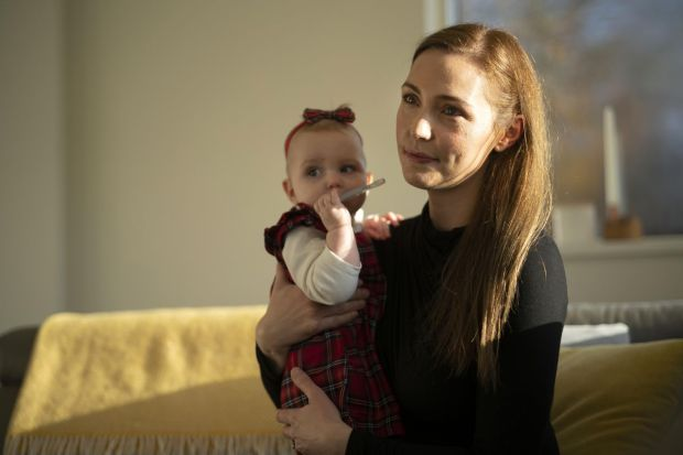Fiona Devine and her daughter Aoibh. Photograph: Chris Maddaloni/The Irish Times