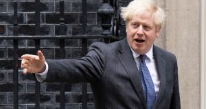 Boris Johnson: Britain is left  facing an  excruciating choice he can  no longer avoid. It either destroys its trading relationship with its largest partner. Or it accepts  being bound by rules it has no voice in making. Photograph:  Dan Kitwood/Getty Images
