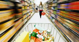 The overall figures show take-home grocery sales growth accelerated by 16.4 per cent during the 12 weeks.
