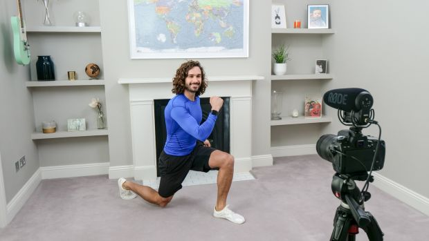 Videos by Joe Wicks aimed at children during lockdown were watched by hundreds of thousands of people. Photograph: Comic Relief/BBC Children in Need/Comic Relief via Getty Images
