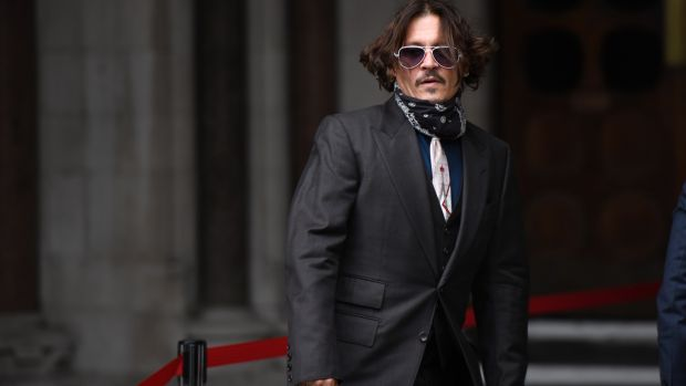 Jonny Depp was asked to resign from his role in Fantastic Beasts 3. Photograph: Getty Images