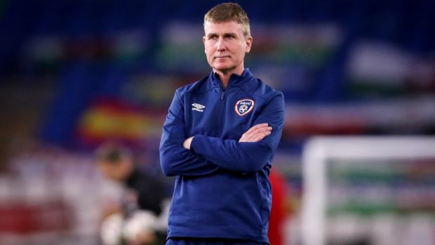Stephen Kenny took over from Mick McCarthy in managing the Republic of Ireland. Photograph: Tommy Dickson/INPHO