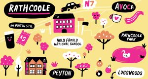 There is plenty to keep you occupied in this southside village ad if you want, town is just a hop and a skip away. Illustration: Aoife Dooley