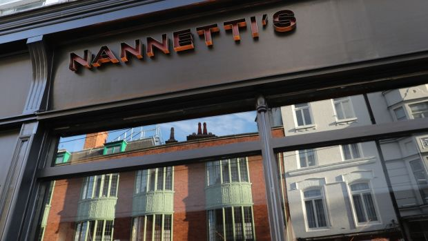 Nannetti's, on Dawson Street, is one of the most recent new restaurant openings in Dublin city centre, with more to come in 2021. Photograph: Nick Bradshaw