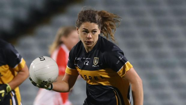Noelle Healy in action for Cork club Mourneabbey in the 2019 All-Ireland club final. Photograph: Lorraine O'Sullivan/Inpho