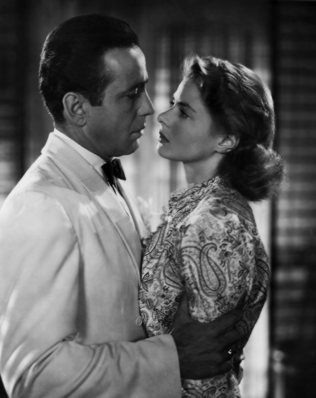Humphrey Bogart and Ingrid Bergman in Casablanca (1943)